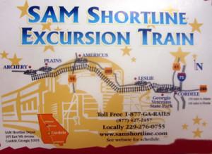 SAM Shortline Train Excursion @ Downtown Cordele, GA | Cordele | Georgia | United States