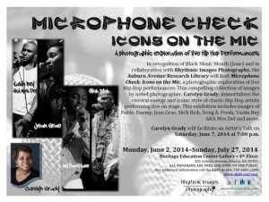 Microphone Check: Icons On The Mic | Photography Exhibit @ Auburn Avenue Research Library | Atlanta | Georgia | United States