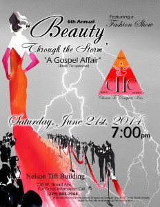 "6th Annual Beauty through the Storm ""A Gospel Affair"" @ Nelson Tift Convention Center 